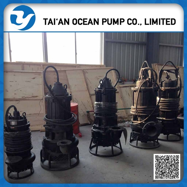 Submersible pump for sand with high-chromium alloy material