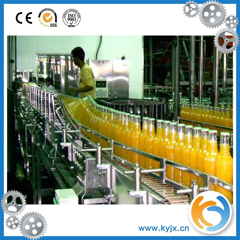 Automatic factory price juice factory equipment for orange juice production line