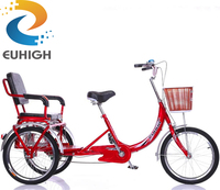 Factory whosale cheap 3 wheel adult tricycle