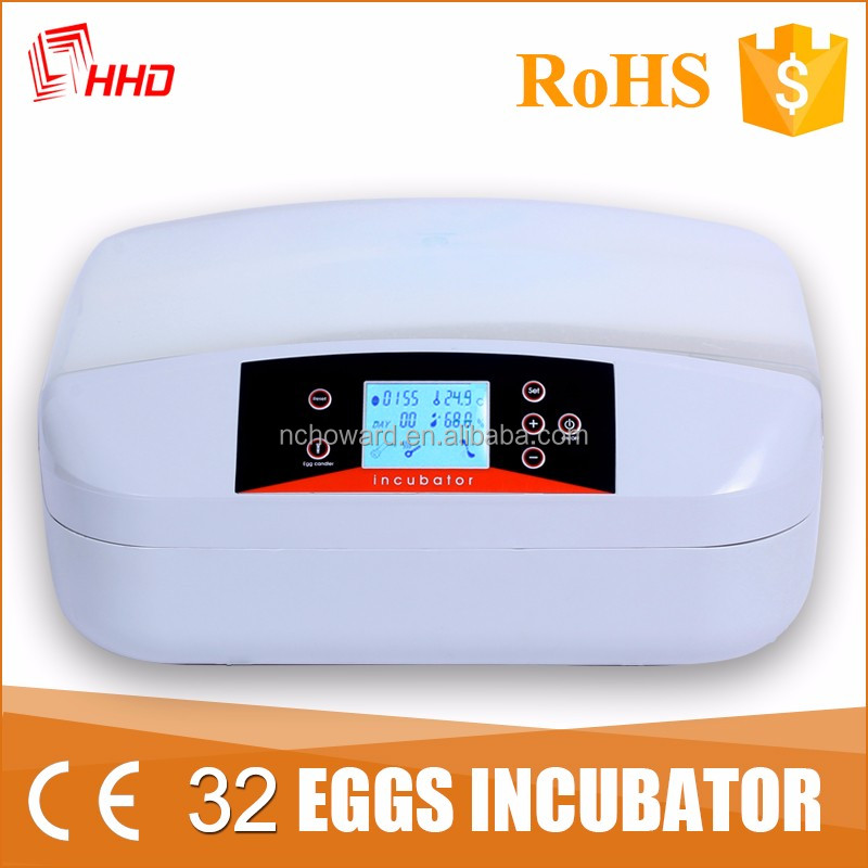 HHD Factory price egg incubator bangladesh with high broiler chicks rate for 32 eggs YZ-32S