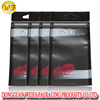 High grade anti static underwear retail package zipper bags