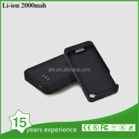 2015 hot selling 2000mah polymer lithium power bank 4s charger case