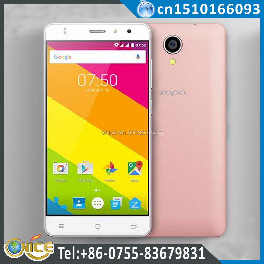 Very Low Price Android Phone 3g wcdma Senior Smartphone ZOPO C2 MT6580 Quad-core WCDMA B1/B5 and GSM