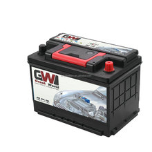 china manufacturing plant 12V car battery DIN66AH lead acid type car battery