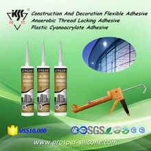Construction And Decoration Flexible Adhesive/Anaerobic Thread Locking Adhesive/Plastic Cyanoacrylate Adhesive