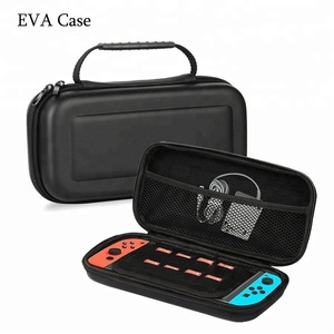 Hard video game player storage carrying eva case