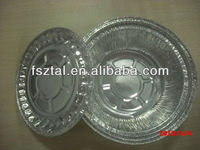 disposable/recycled airline aluminium foil containers/pans for food packaging