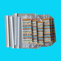 color printed self adhesive seal opp bags for clot