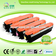 best customer service and fast delivery CE270A/CE271A/CE272A/CE273A color toner for HP CP5525 Shenzhen manufacturer