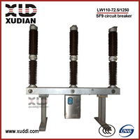 72.5 kV outdoor SF6 gas circuit breaker