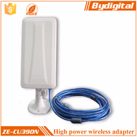 High quality ISM band 150Mbps 14dBi 150mbps mini usb wifi wireless adapter lan network wifi bridge rj45 wireless adapter