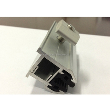 Solar Roof Racking System Components, Frameless Module Clamp for Solar Panels, Solar Mounting System Accesories