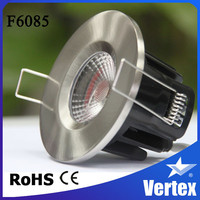 8W COB LED waterproof lighting for showers