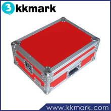 Beautiful Red DJ Flight Cases for Holding Universal 12'' Mixers