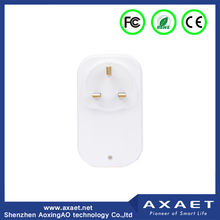 2017 new arrival smart home white color WIfi/Bluetooth Smart remote Socket Control your household appliance anytime and anywhere