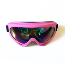 Multi colors designer cheap promotional custom ski goggles