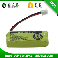 Ni-MH 2.4v 500mah Rechargeable Battery Pack With Plug For Cordless Phone