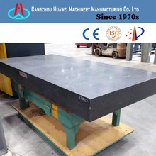 2018 new china natural Plane flatness measuring super precision granite Inspection surface table