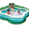 High quality inflatable pool,inflatable fun family 2 rings swimmingpool,various design swimming pool