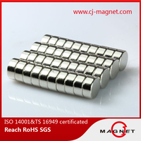 high quality and strong CJ Magnet disc ndfeb magnet produced in China