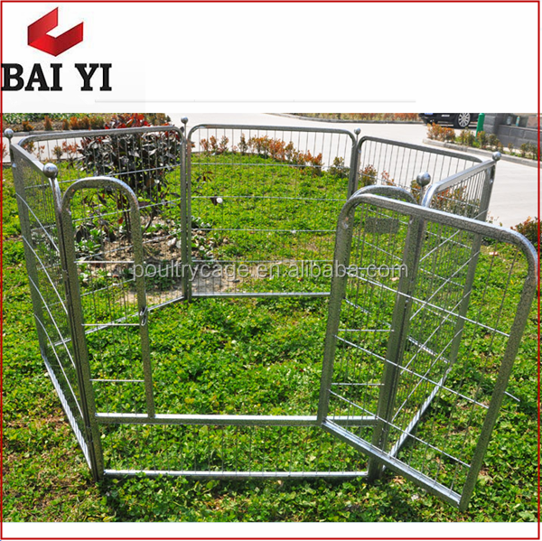 Galvanized Steel Dog Run And Metal Dog Run For Sale Cheap With Aluminum Dog Exercise Pen