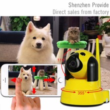 Clever dog p2p WiFi IP Camera Intelligent 720P Motion Detection Wifi Wireless CCTV Camera Baby care Monitor Security Camera