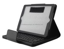 Hot sale! Black leather bluetooth keyboard case for samsung galaxy tab 3 7 inch