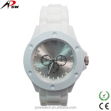 Promotional gifts set western girls rubber wrist watch