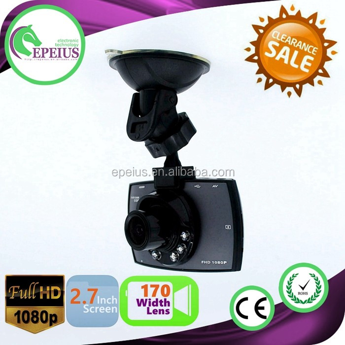 HOT SALES G30 1080P HD NIGHT VISION DASH CAMERA 170D WIDTH ANGLE 1080 P 170D WIDTH ANGLE HD LENS CAR RECORDER
