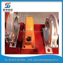 High quality Carbon Concrete Pump Snap Wedge Clamp with bracket for Concrete Pump