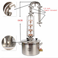 Baistra Electric Portable Alcohol Stainless Steel Herb Essential Brandy Lavender Oil Copper Distiller