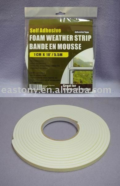 foam weather tape