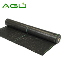 100% PP Woven Weed Mat Ground Cover Weed Control Fabric Rubber