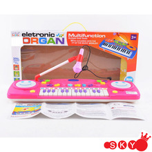 Musical toys 25 Keys electric piano/organ keyboard w/microphone