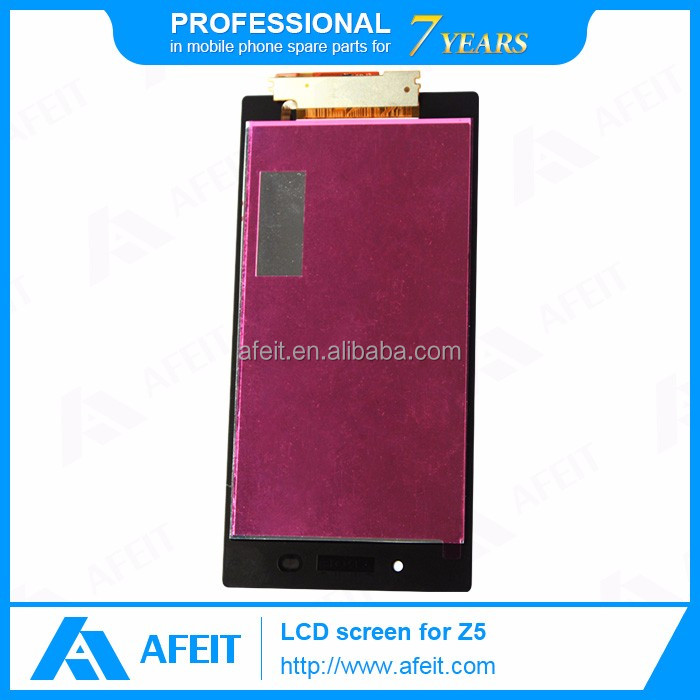 lcd for sony ericsson, for sony xperia z5 lcd display replacement with touch screen digitizer
