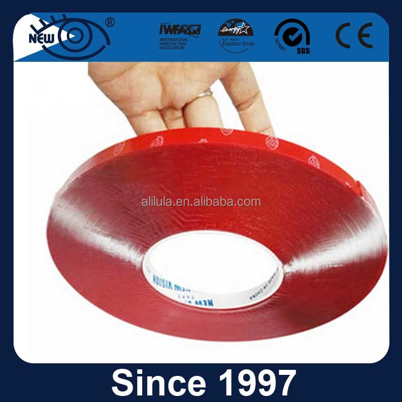 High quality acrylic foam tape/transparent adhesive foam tape for car heavy duty