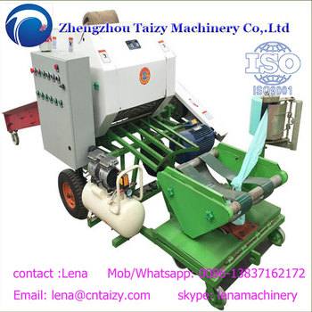 Hot sale silage baling and wrapping machine 0086-13837162172