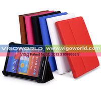 Universal leather corner claws case cover for BlackBerry PlayBook 64Gb with Built-in Stand [Accord Series]
