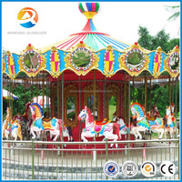 Hot sale interesting outdoor merry go round carousel for sale