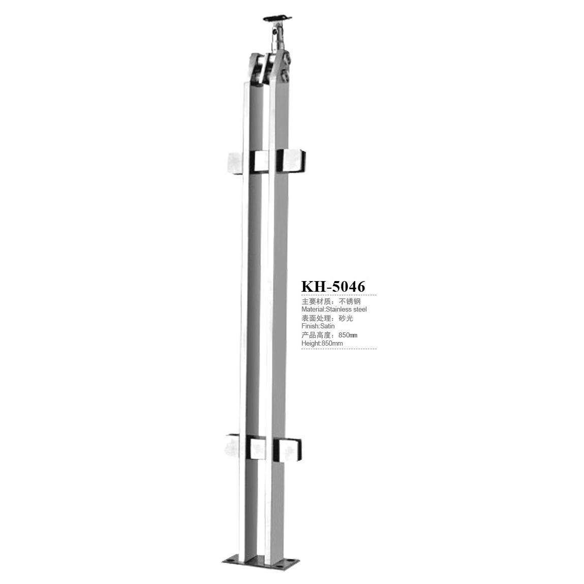 Stainless Steel Glass Handrail Railing Post