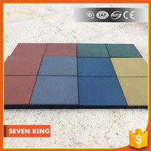 Qingdao 7King recycled material driveway rubber paver mat