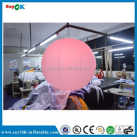 2014 advertising hot sale led inflatable balloon
