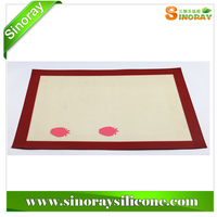 New style silicone fiberglass baking form