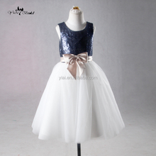 J--00106 2-14 years flower <strong>girl</strong> <strong>dress</strong>, navy sequin children frocks designs princess <strong>dress</strong> with good quality baby <strong>dress</strong>