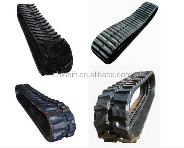 Rubber track crawler truck car rubber tracks for JEEP ATV UTV SUV tracks doosan IHI takeuchi