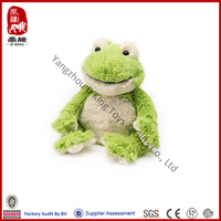 China wholesale animal toy plush green frog stuffed animal