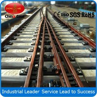 Standard Y-shaped Rail Track Turnout For Railways From Manufacturer