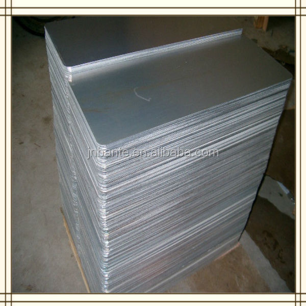 Aluminum metal sign blanks