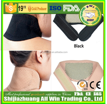 AWI-C03 alibaba china neoprene neck wrap heating pad neck collar/support/belt/brace