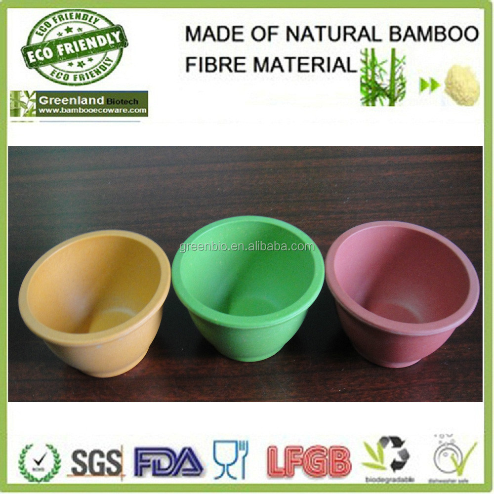 disposable bamboo fibre tableware home products meal bowls, food bowls